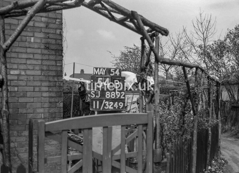 SJ889254B, Ordnance Survey Revision Point photograph in Greater Manchester