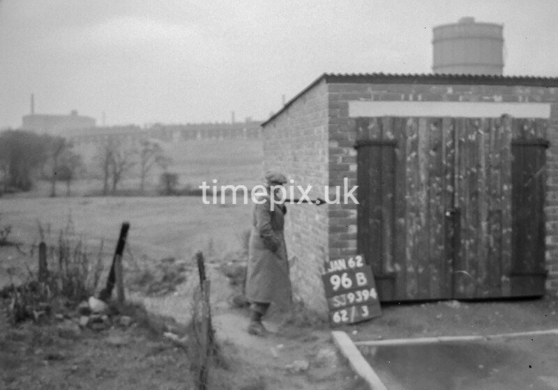 SJ939469B, Ordnance Survey Revision Point photograph in Greater Manchester