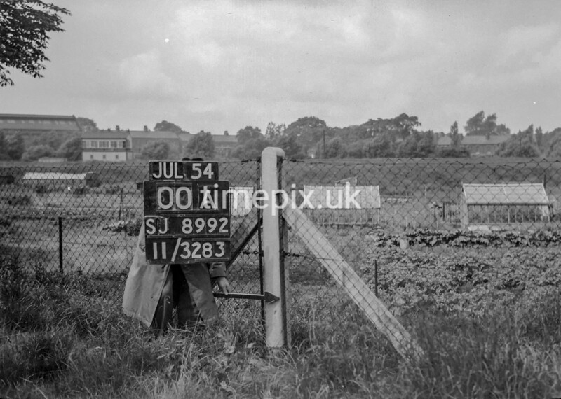 SJ899200A, Ordnance Survey Revision Point photograph in Greater Manchester