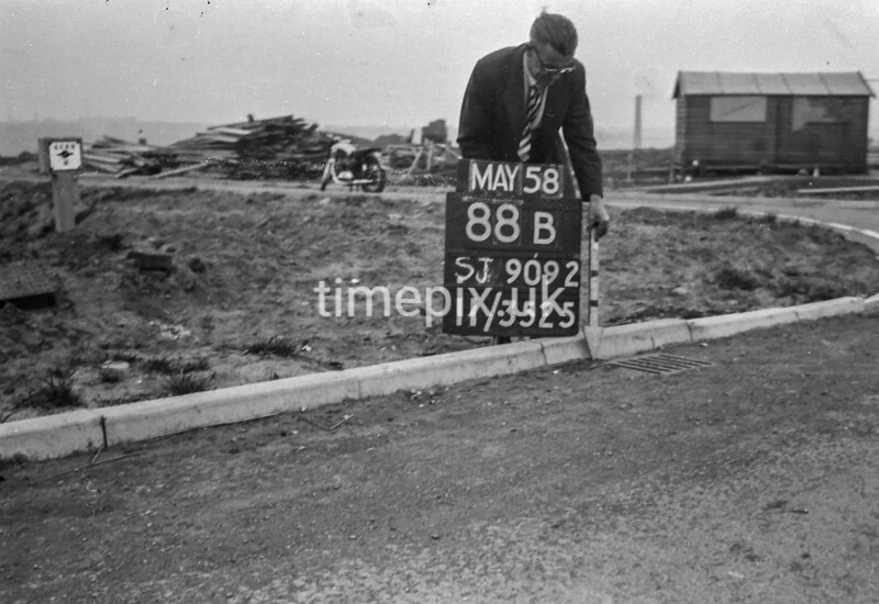 SJ909288B, Ordnance Survey Revision Point photograph in Greater Manchester