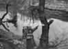 SJ909250A, Ordnance Survey Revision Point photograph in Greater Manchester