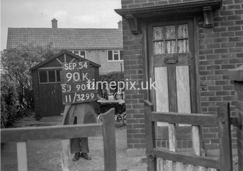 SJ909290K, Ordnance Survey Revision Point photograph in Greater Manchester