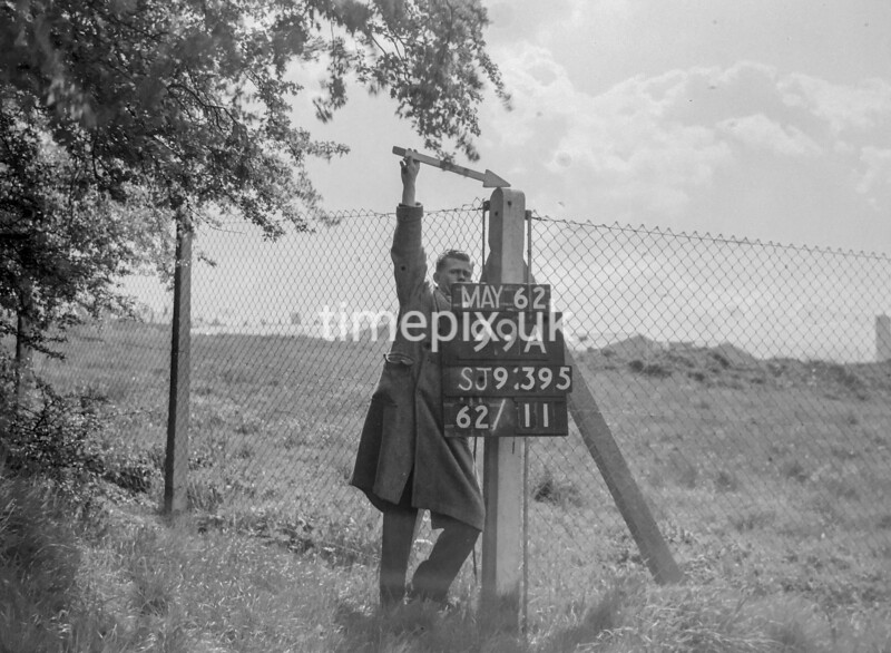 SJ939599A, Ordnance Survey Revision Point photograph in Greater Manchester