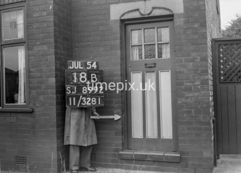 SJ899218B, Ordnance Survey Revision Point photograph in Greater Manchester