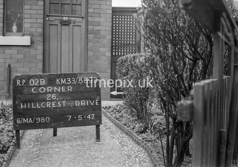 SJ889302B, Ordnance Survey Revision Point photograph in Greater Manchester