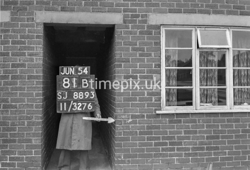 SJ889381B, Ordnance Survey Revision Point photograph in Greater Manchester