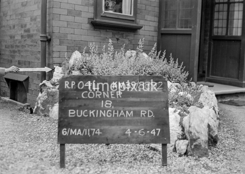 SJ889204L, Ordnance Survey Revision Point photograph in Greater Manchester