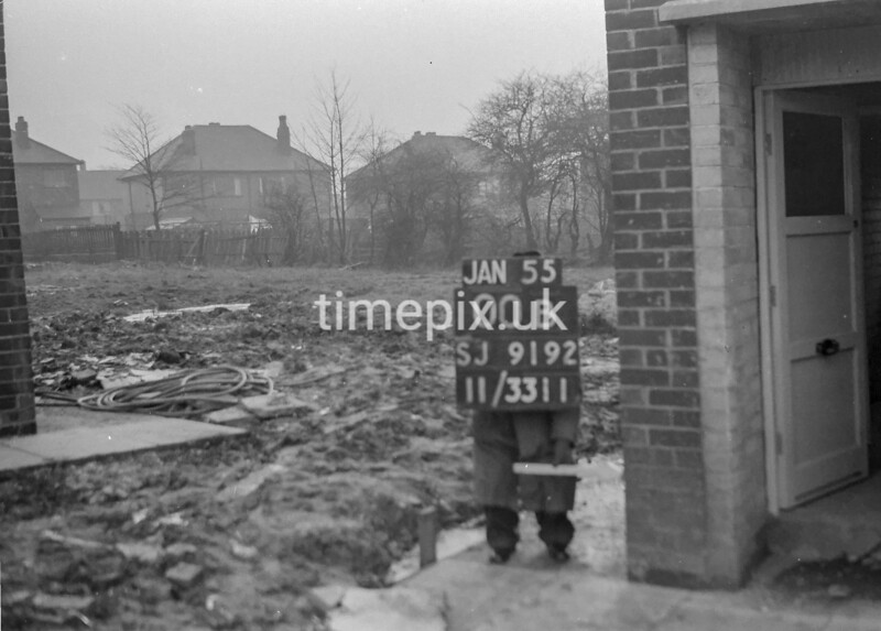 SJ919200B, Ordnance Survey Revision Point photograph in Greater Manchester