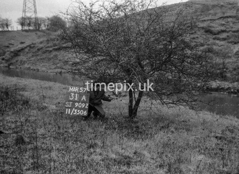 SJ909231A, Ordnance Survey Revision Point photograph in Greater Manchester