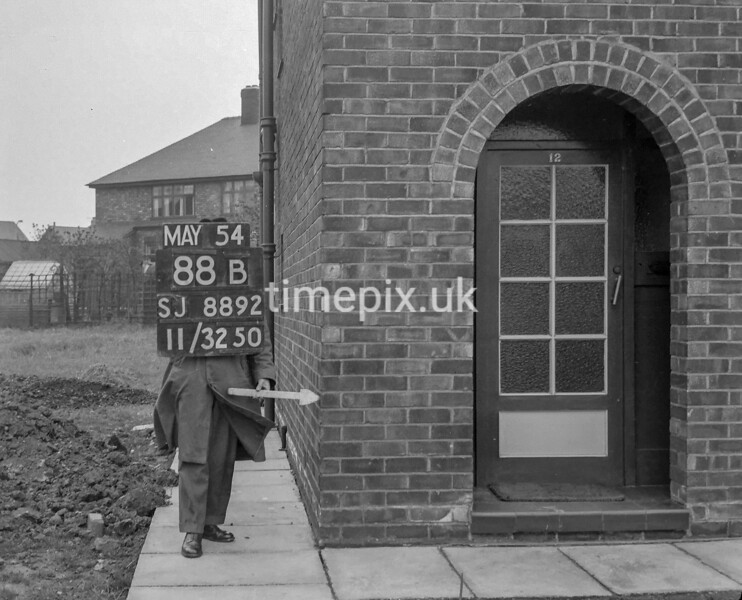 SJ889288B, Ordnance Survey Revision Point photograph in Greater Manchester