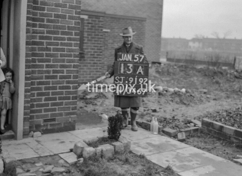 SJ919213A, Ordnance Survey Revision Point photograph in Greater Manchester