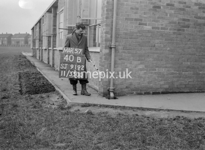 SJ919240B, Ordnance Survey Revision Point photograph in Greater Manchester