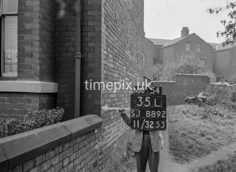 SJ889235L, Ordnance Survey Revision Point photograph in Greater Manchester