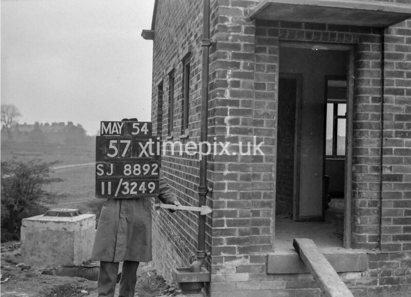 SJ889257X, Ordnance Survey Revision Point photograph in Greater Manchester