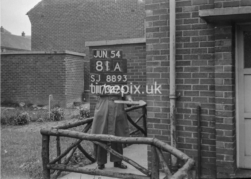 SJ889381A, Ordnance Survey Revision Point photograph in Greater Manchester