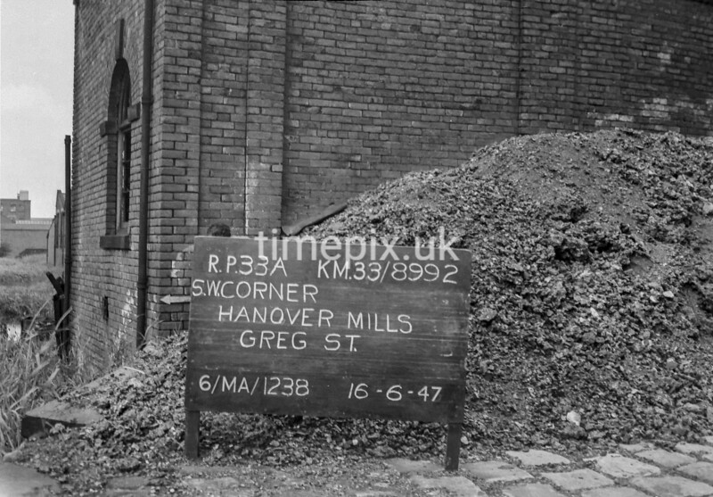 SJ899233A, Ordnance Survey Revision Point photograph in Greater Manchester
