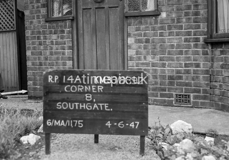 SJ889214A, Ordnance Survey Revision Point photograph in Greater Manchester