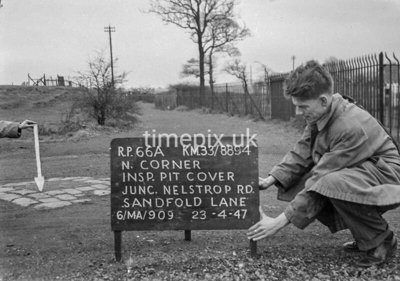 SJ889466A, Ordnance Survey Revision Point photograph in Greater Manchester
