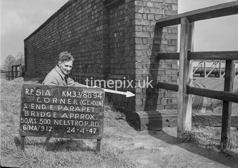 SJ889451A, Ordnance Survey Revision Point photograph in Greater Manchester