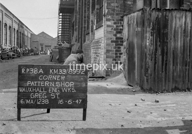 SJ899238A, Ordnance Survey Revision Point photograph in Greater Manchester