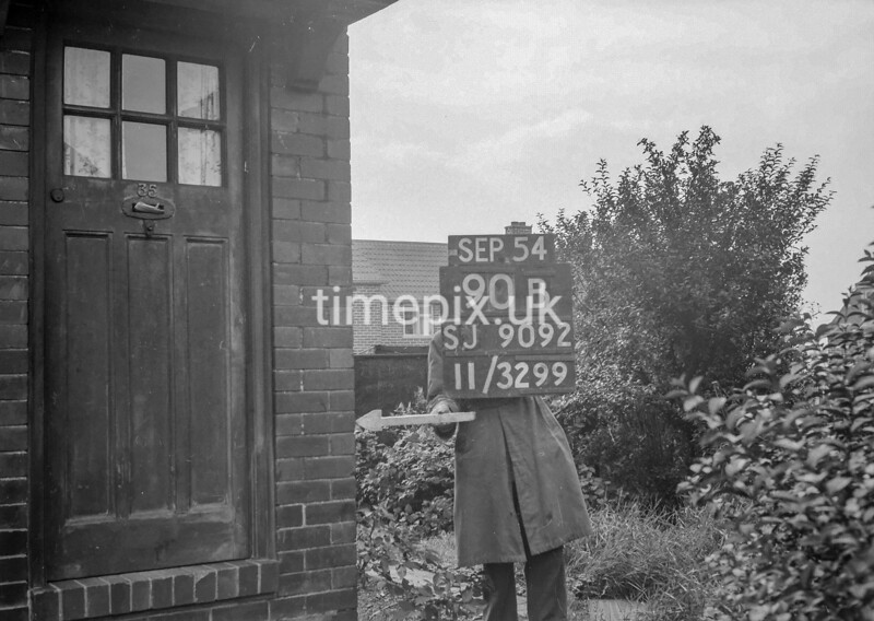 SJ909290B, Ordnance Survey Revision Point photograph in Greater Manchester