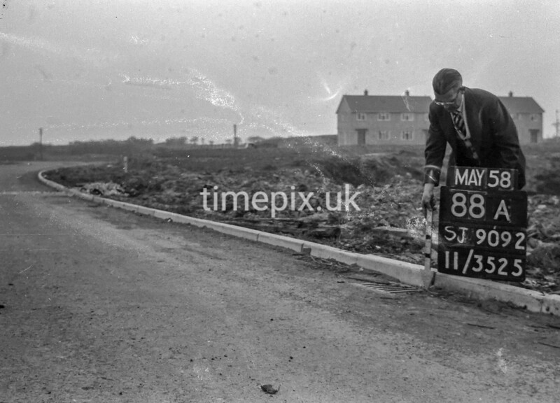 SJ909288A, Ordnance Survey Revision Point photograph in Greater Manchester