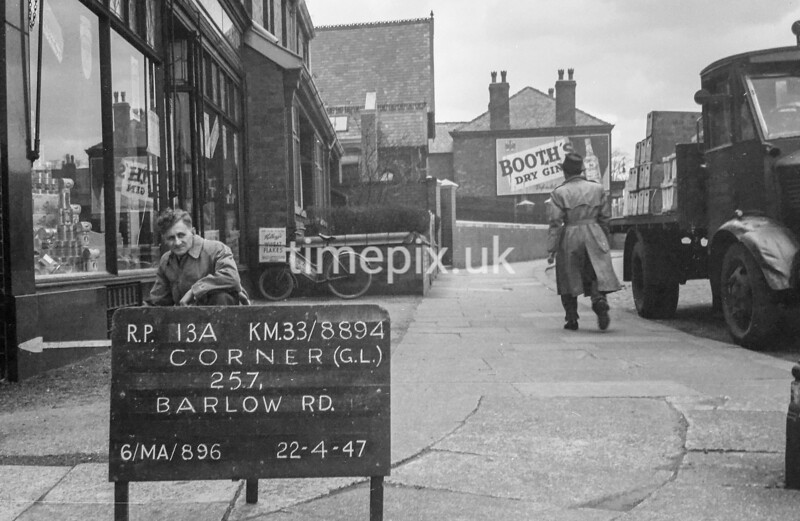 SJ889413A, Ordnance Survey Revision Point photograph in Greater Manchester