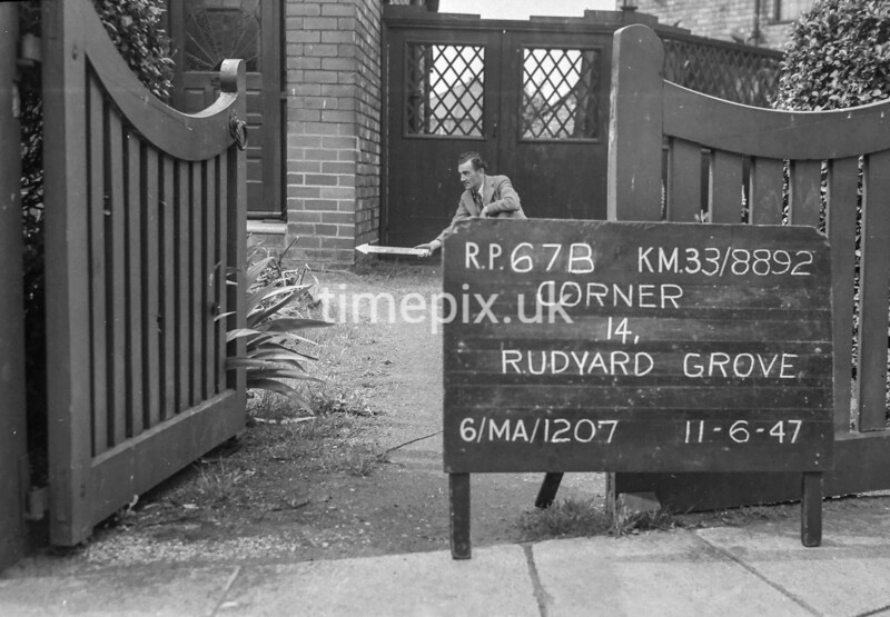 SJ889267B, Ordnance Survey Revision Point photograph in Greater Manchester