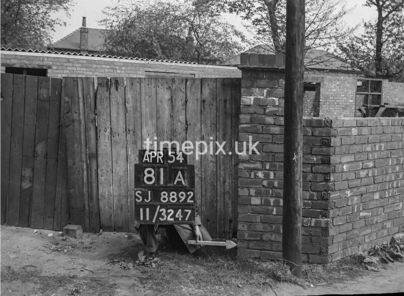 SJ889281A2, Ordnance Survey Revision Point photograph in Greater Manchester
