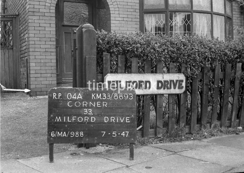 SJ889304A, Ordnance Survey Revision Point photograph in Greater Manchester