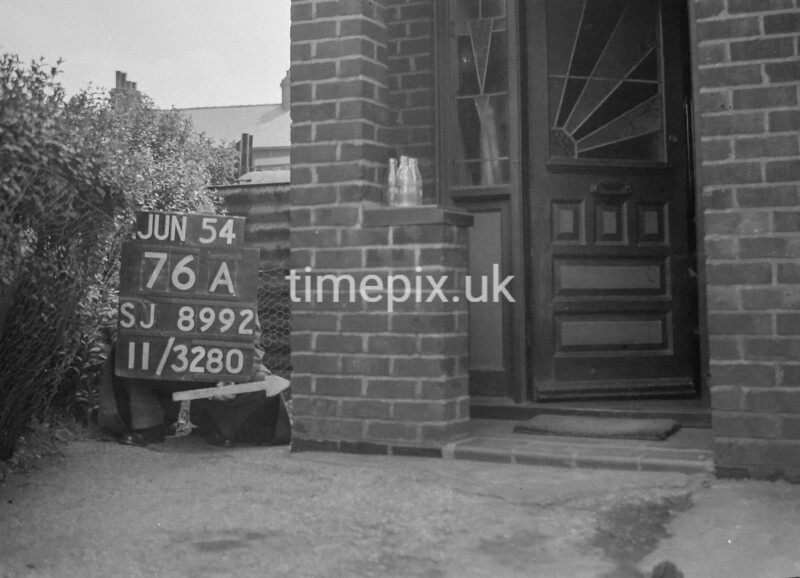 SJ899276A, Ordnance Survey Revision Point photograph in Greater Manchester