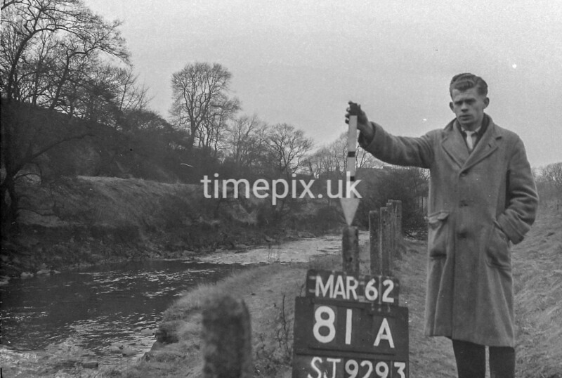 SJ929381A, Ordnance Survey Revision Point photograph in Greater Manchester