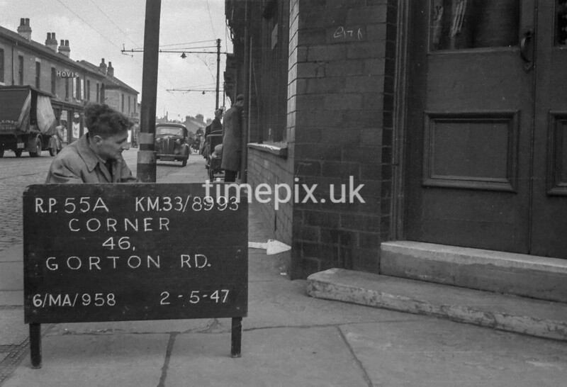 SJ899355A, Ordnance Survey Revision Point photograph in Greater Manchester
