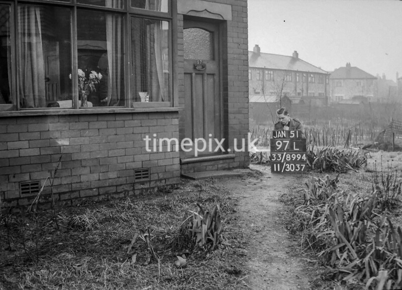 SJ899497L, Ordnance Survey Revision Point photograph in Greater Manchester