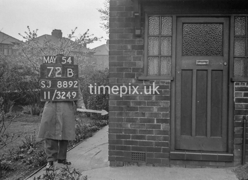 SJ889272B, Ordnance Survey Revision Point photograph in Greater Manchester