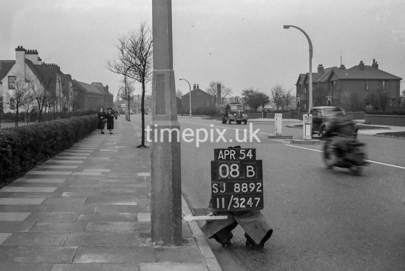 SJ889208B2, Ordnance Survey Revision Point photograph in Greater Manchester