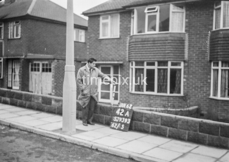 SJ939342A, Ordnance Survey Revision Point photograph in Greater Manchester