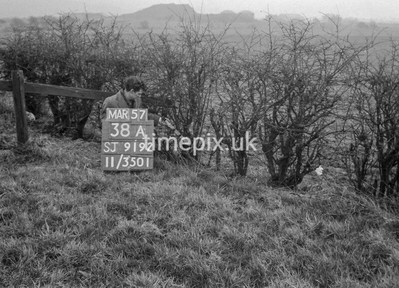 SJ919238A, Ordnance Survey Revision Point photograph in Greater Manchester