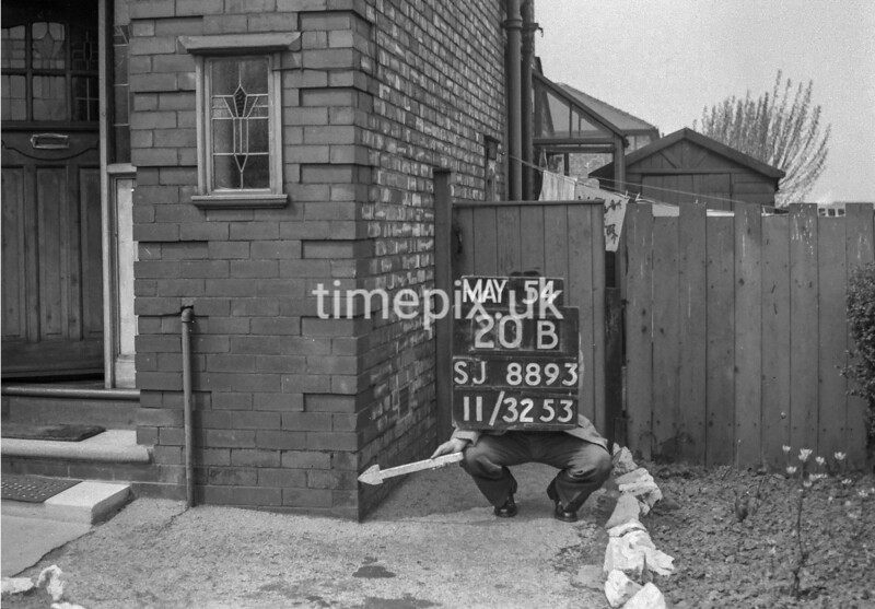 SJ889320B, Ordnance Survey Revision Point photograph in Greater Manchester