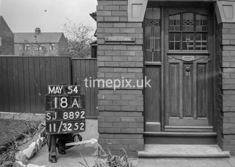 SJ889218A, Ordnance Survey Revision Point photograph in Greater Manchester