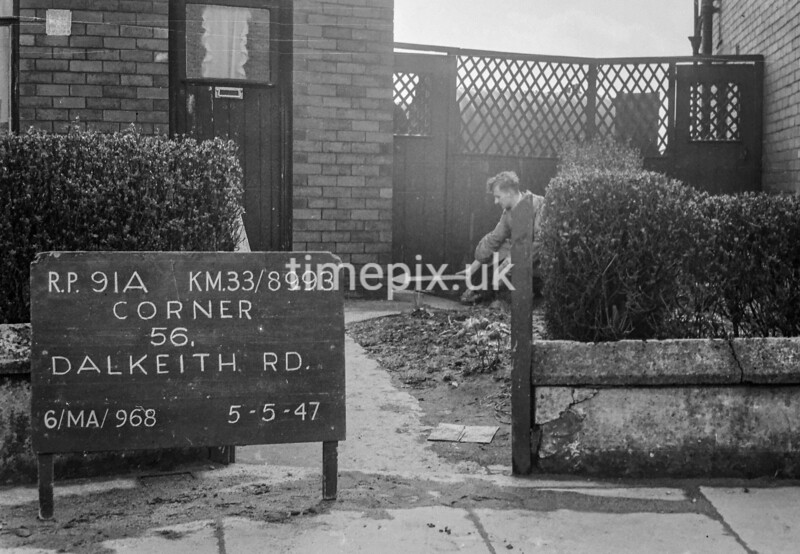 SJ899391A, Ordnance Survey Revision Point photograph in Greater Manchester
