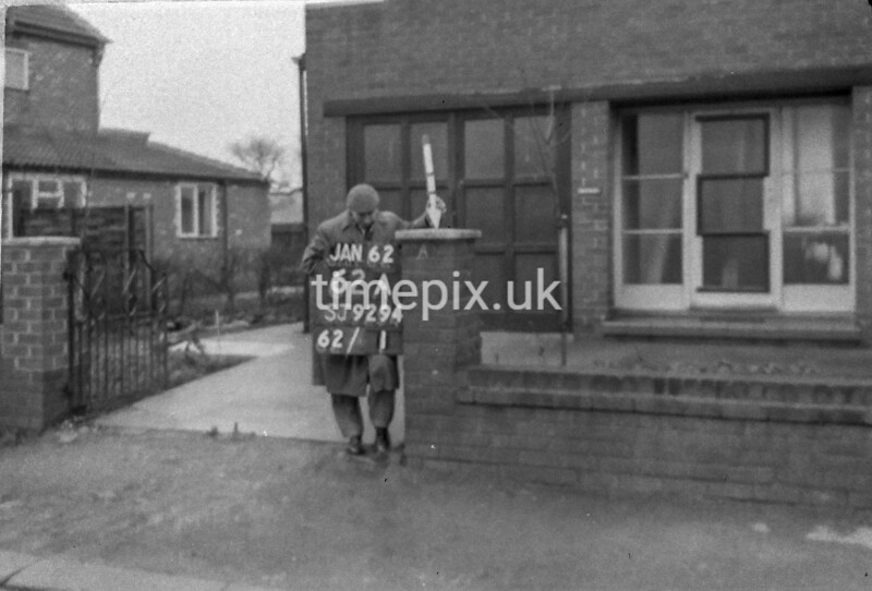 SJ929462A, Ordnance Survey Revision Point photograph in Greater Manchester