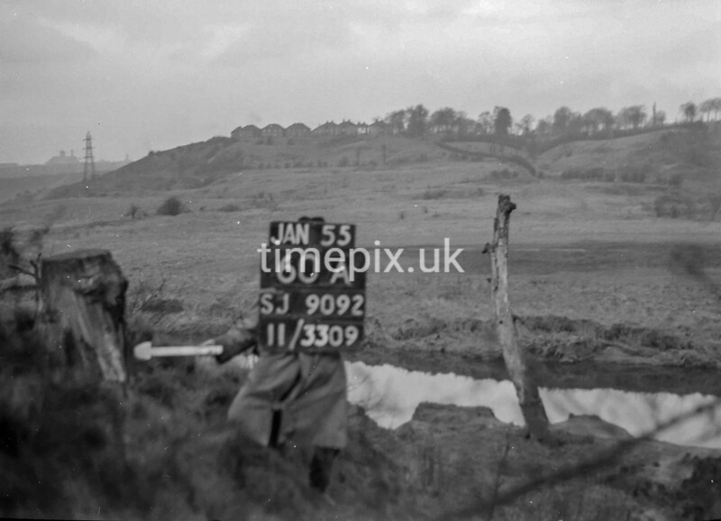 SJ909260A, Ordnance Survey Revision Point photograph in Greater Manchester