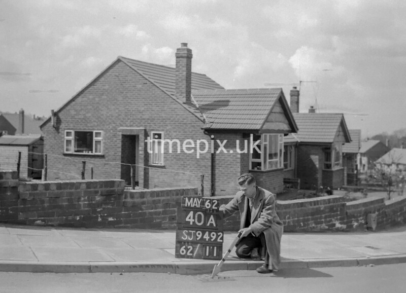SJ949240A, Ordnance Survey Revision Point photograph in Greater Manchester