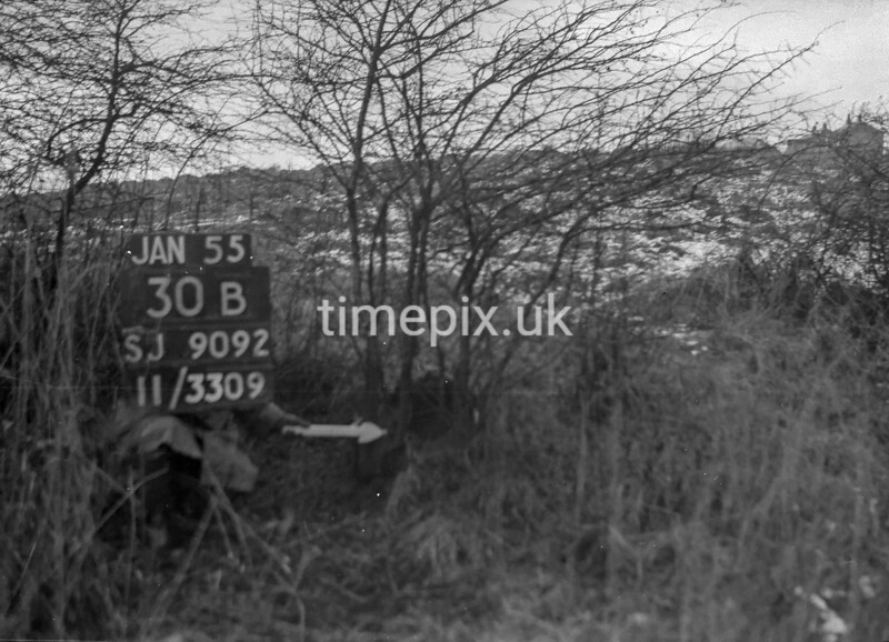 SJ909230B, Ordnance Survey Revision Point photograph in Greater Manchester
