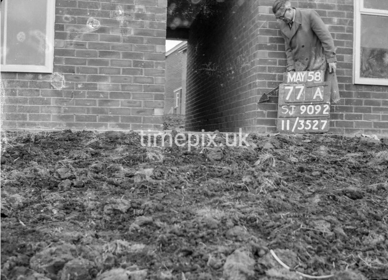 SJ909277A, Ordnance Survey Revision Point photograph in Greater Manchester