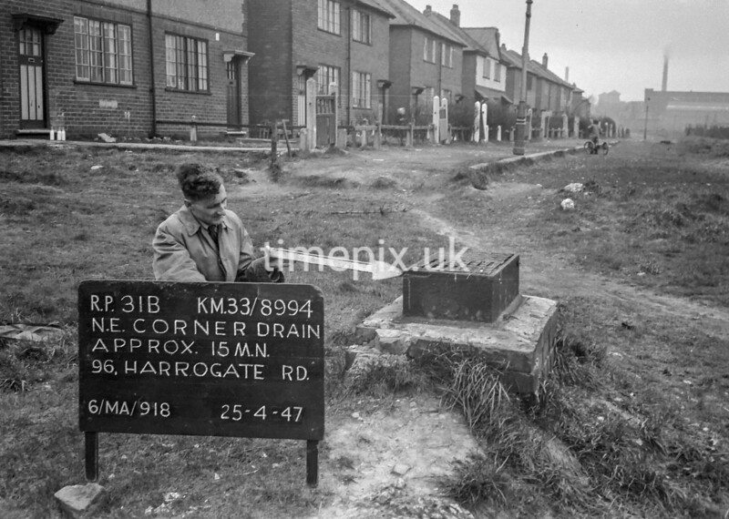 SJ899431B, Ordnance Survey Revision Point photograph in Greater Manchester