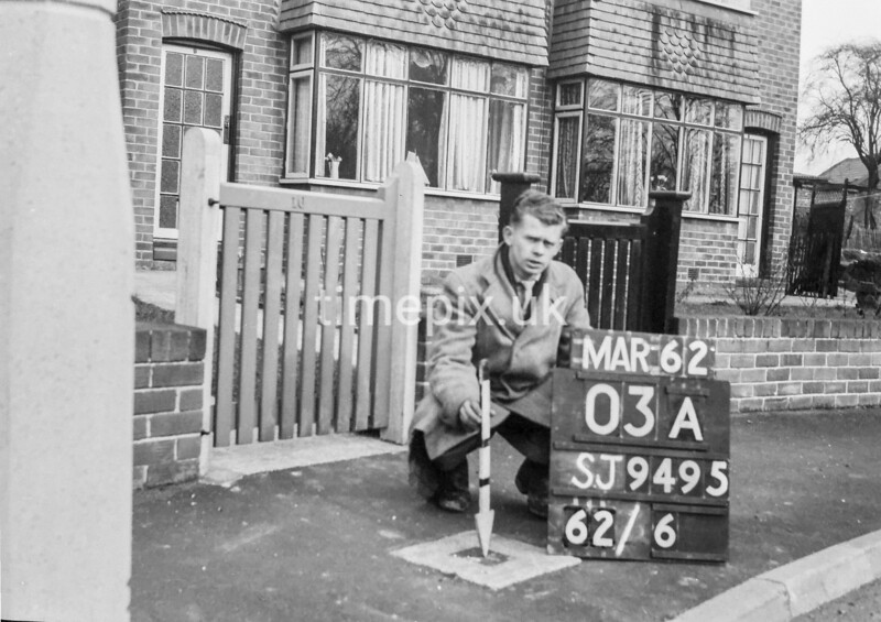SJ949503A, Ordnance Survey Revision Point photograph in Greater Manchester
