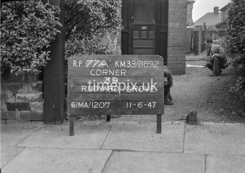 SJ889277A, Ordnance Survey Revision Point photograph in Greater Manchester