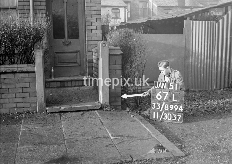 SJ899467L, Ordnance Survey Revision Point photograph in Greater Manchester